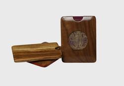 Wooden Passport Holder