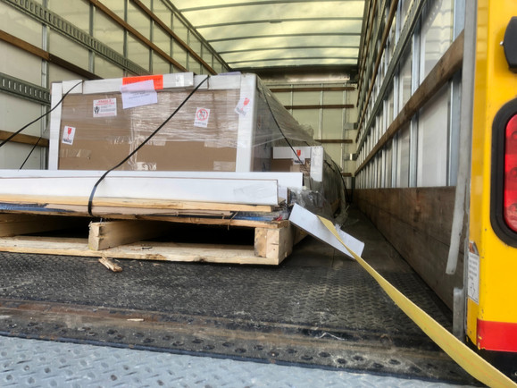 Unloading Polycarbonate