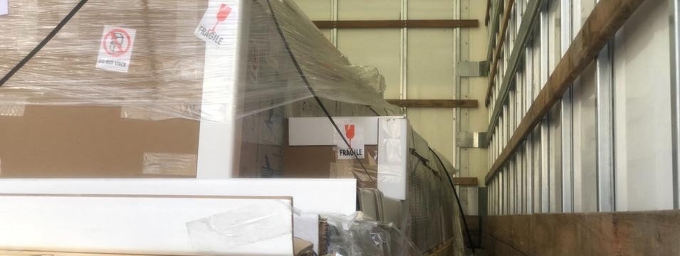 Unloading Polycarbonate