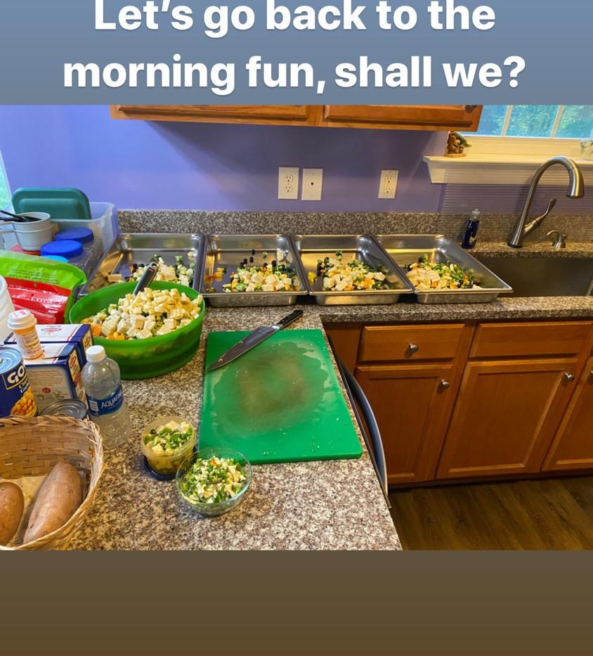 Kitchen food prep