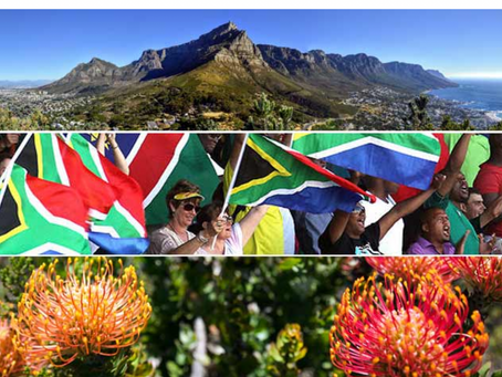 """""""And always there is South Africa, rich and alive"""""""