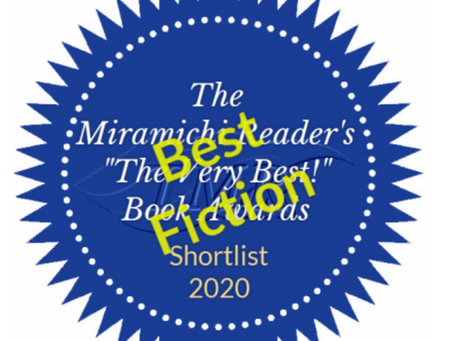 """""""The Afrikaner"""" shortlisted """"Best Fiction 2020"""" by Miramichi Reader"""