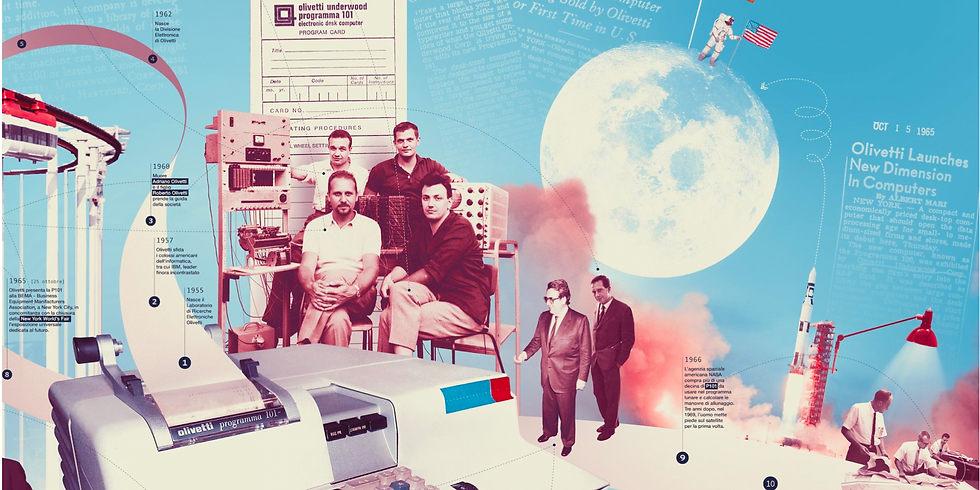 How Olivetti Invented the World's First Desktop Computer & Put the Soul in the Machine