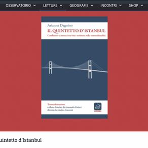 """Il Quintetto d'Istanbul sull'""""Indice dei libri del mese"""" – recensione"""