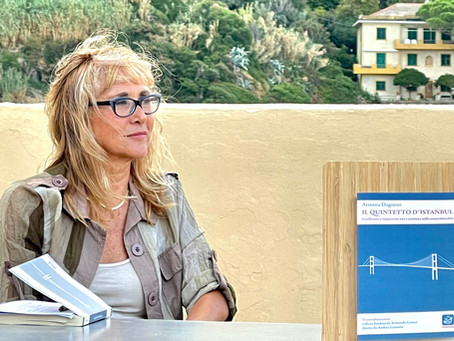 SESTRI LEVANTE (Liguria, Italy): GRAND OPENING OF THE BOOK TOUR IN A PERFECT SETTING