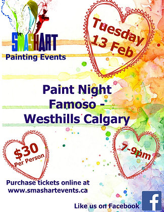 Famoso - Westhills | Feb 13 | 7-9pm