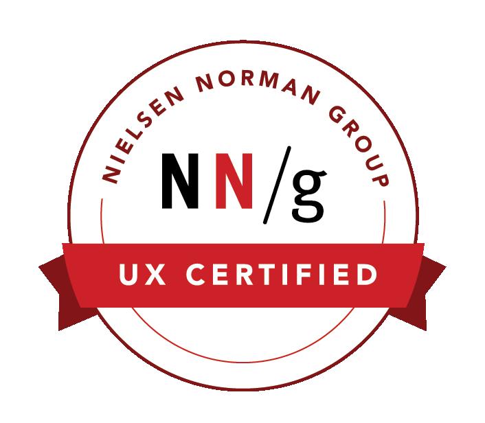NN/g UX Certified