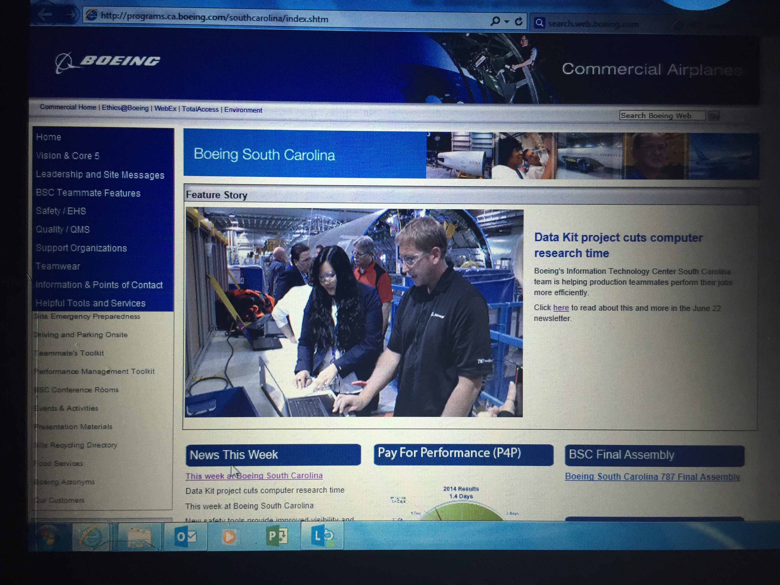 Boeing News