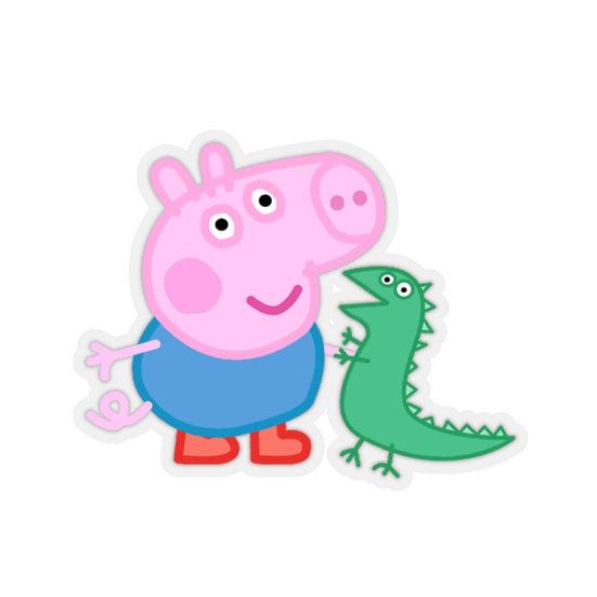 Peppa pig George Stickers