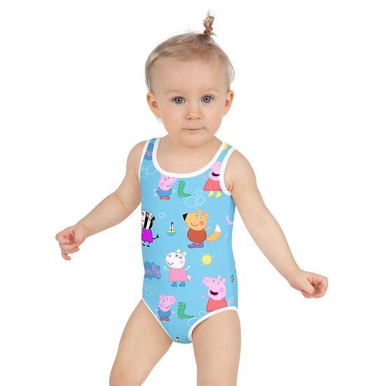 peppa pig Print Kids Swimsuit