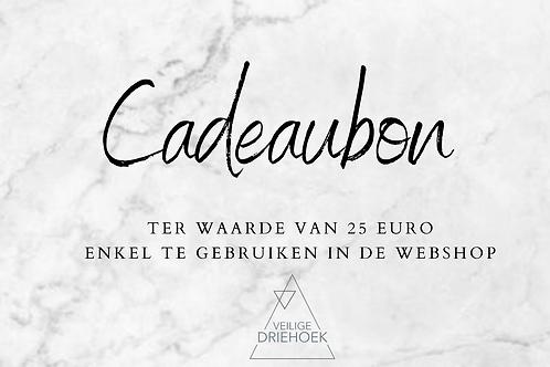 Waardebon - 25 euro