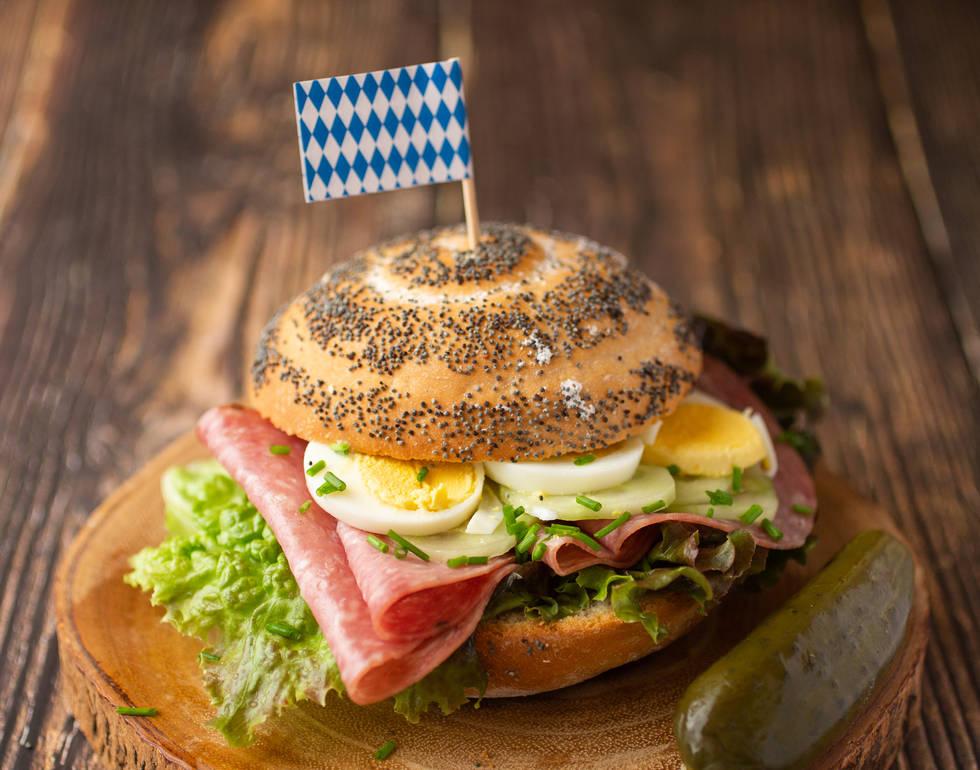 Salami Sandwich*