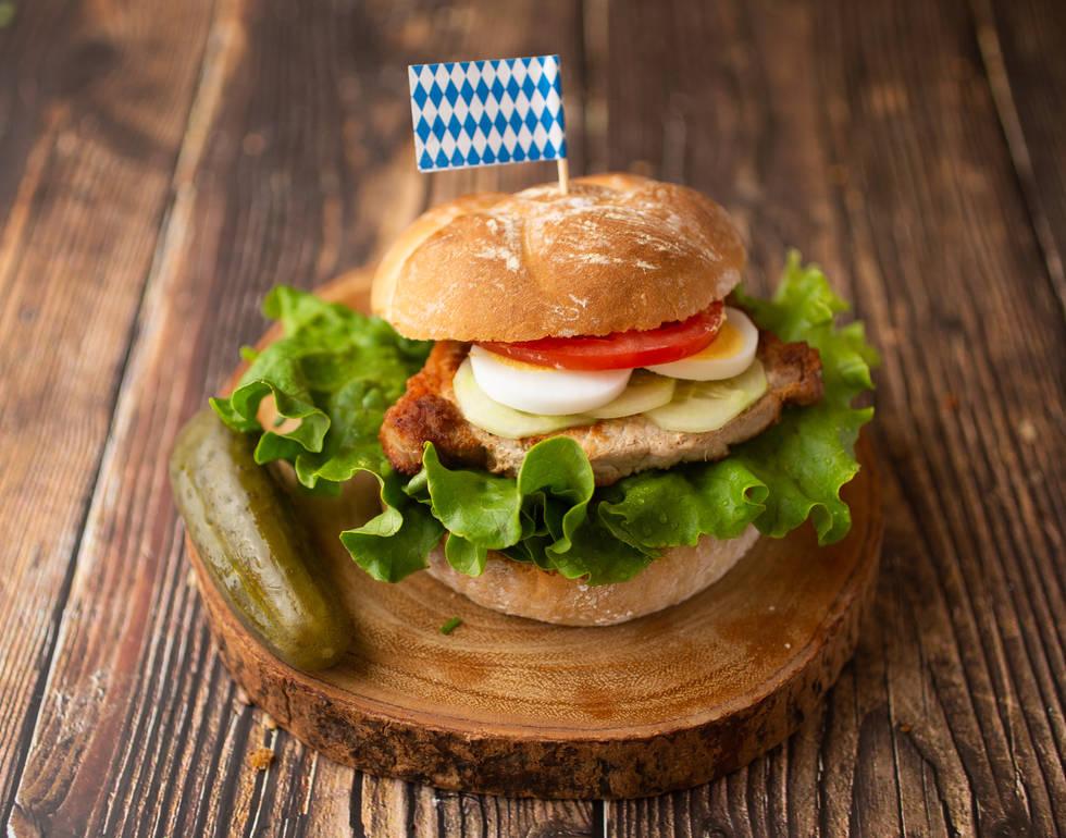 Schnitzel Plain Sandwich*