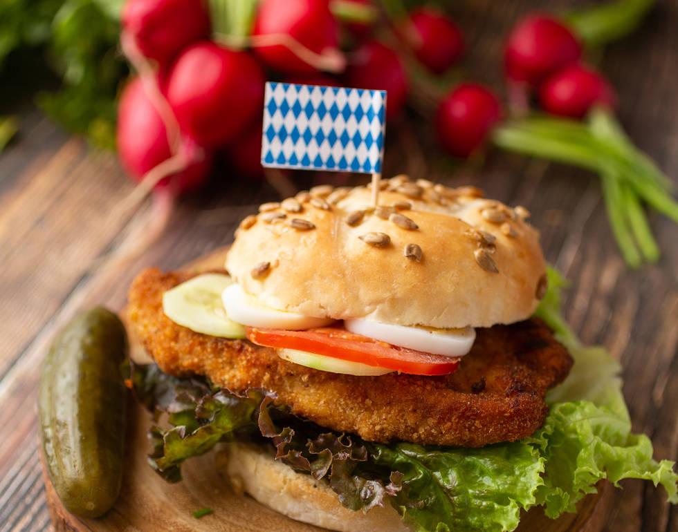 Schnitzel Breaded Sandwich*