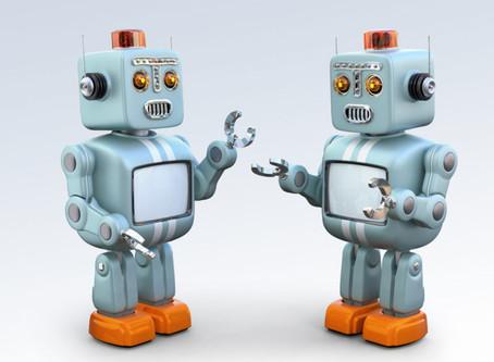 Bye Bye Monkeys. Hello Robots.