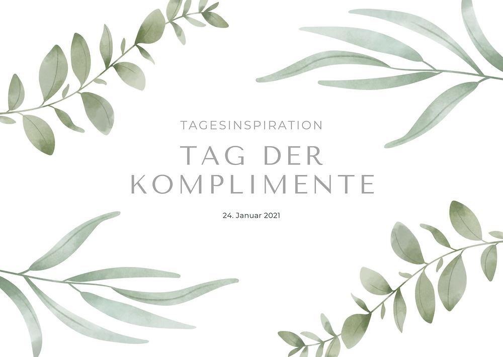Tag der Komplimente Traurednerin Tanja Herz