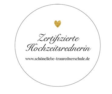 Zertifizierung Hochzeitsrednerin SCHOENELIEBE Traurednerschule