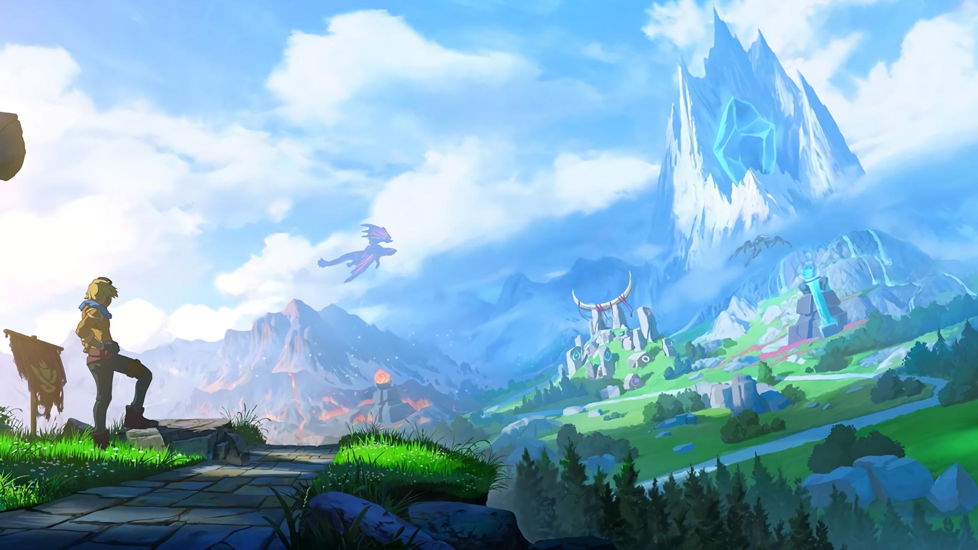 Cool 4k Legend of Zelda wallpapers nintendo switch desktop background hd image
