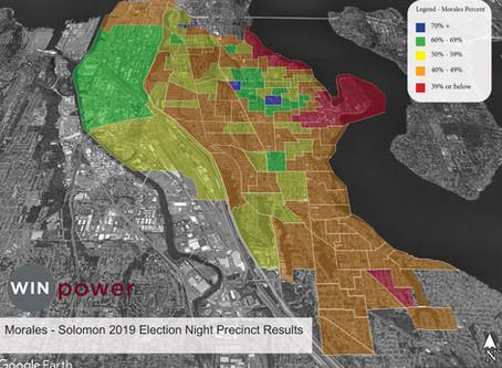 Morales Election Night Results By Precinct