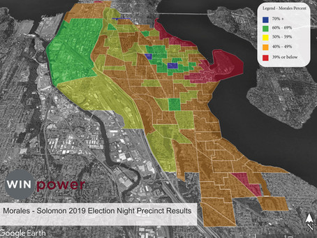 Morales Election Night Results By Precinct