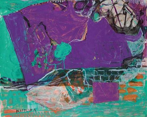 Chuta KIMURA, Cabris, 1976 - 160x130cm (
