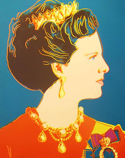 Andy Warhol, Queen Margrethe II, 1985, s