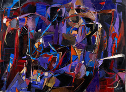 Lanskoy (1902-1976) - Rêver d'aventures, 1966, Huile sur toile 81 x 110 cm