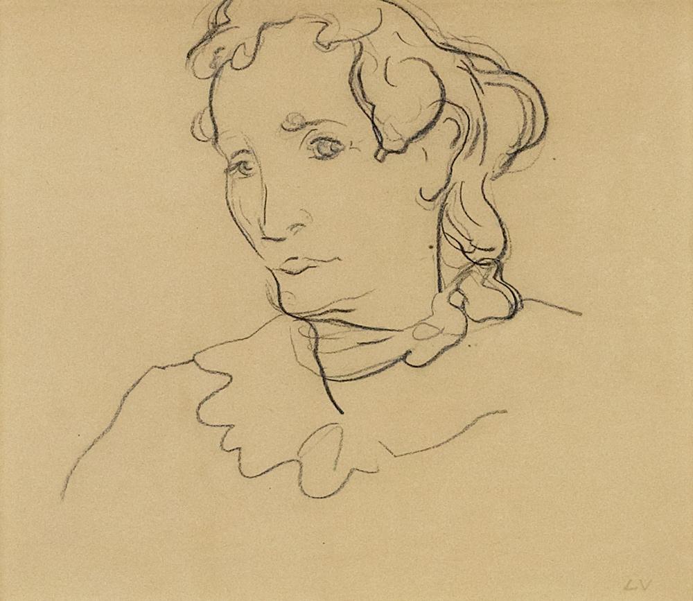 Valtat_(1869-1952)_-_Tête,_1910_Crayon_sur_papier,_26_cm_x_30_cm