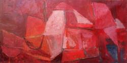 Pedrosa, Eterna Fiamma, 2014 oleo su tela 150 x 198 cm