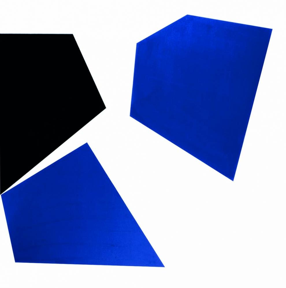 Claisse (1935) - Brusc 65, 1965, Huile sur toile, 100 x 100 cm