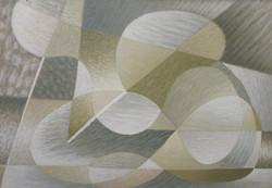 Charchoune (1888-1975) - La mer toujours recommencée, 1948, Huile sur panneau, 50 x 72 cm