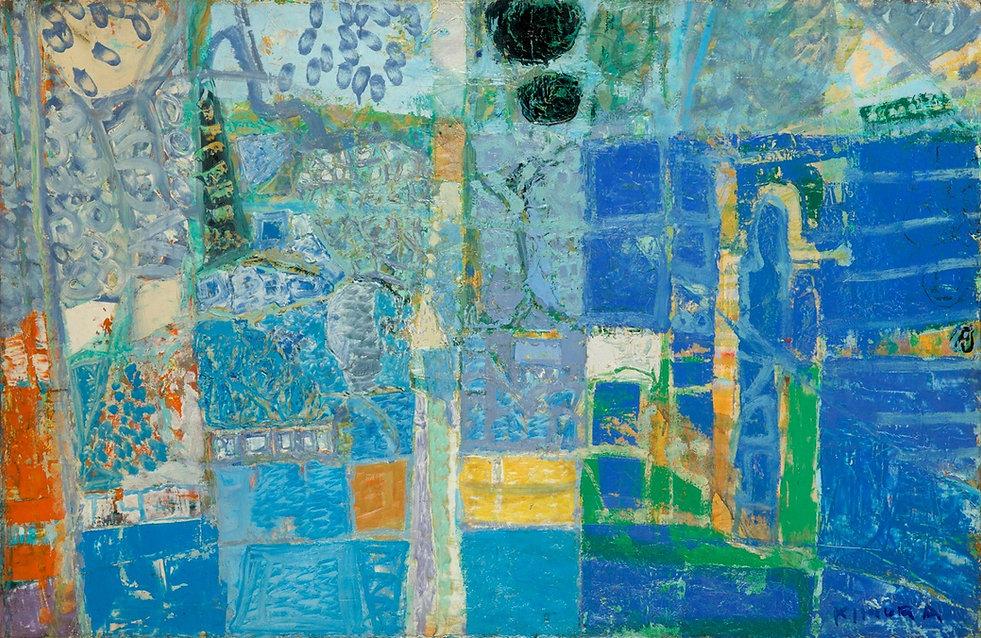 Chuta KIMURA, Paysage de Sevr es, 1961 -