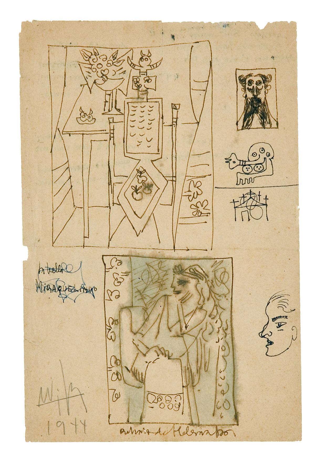 2)1944,Encre de chine, 22 x 15