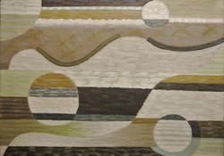 Charchoune (1888-1975) Courants marins, 1948, Huile sur toile collée sur panneau, 48 x 65 cm