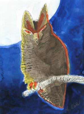 ピンポイントギャラリー「100 人の鳥獣戯画」展に参加します。