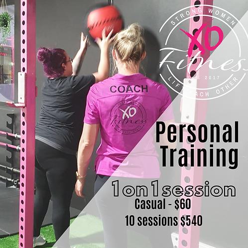 30 Min 1 - 1 PT session