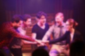 Sarah Redmond directs Bromance the musical Kenton Theatre Henley