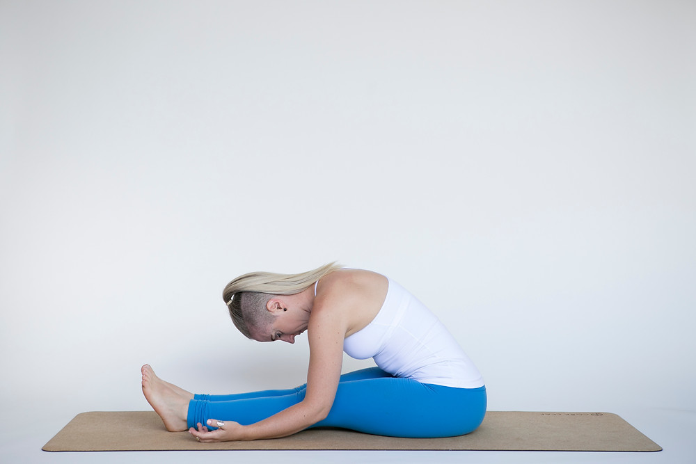 Caterpillar Pose Yin Yoga for Sleep
