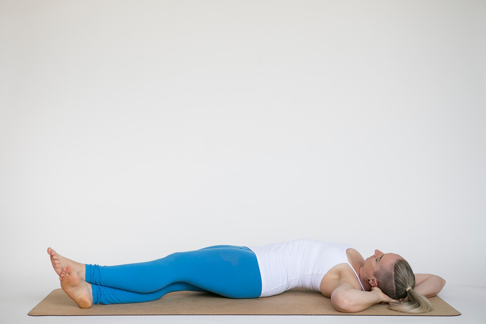 Banana Pose Yin Yoga for Sleep