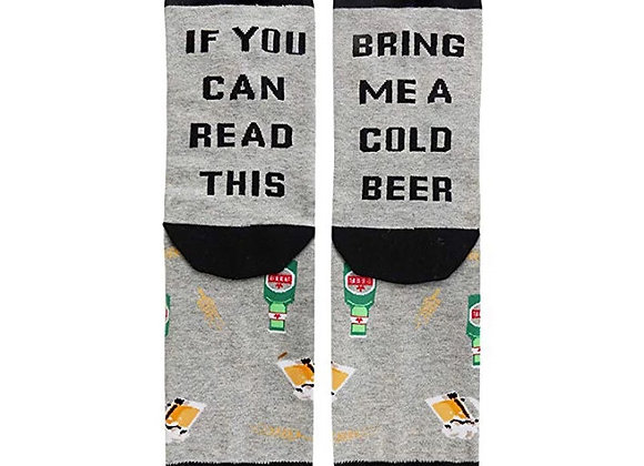 Every Man Needs Socks And A Cold Beer