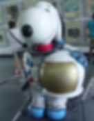 Snoopy as an astronaut at the Kennedy Space Centre
