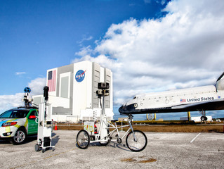 The Kennedy Space Centre on Google Street View Treks