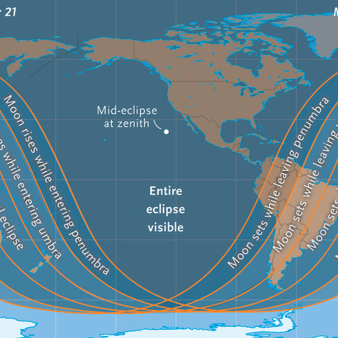 Eclipse Map, for Sky & Telescope