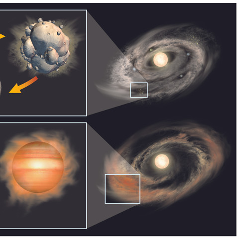 Formation of a Planet, for Sky & Telescope