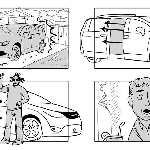Vantastic Voyage, Chrysler commercial