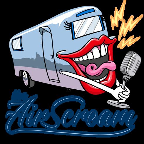 Air Scream, logo design