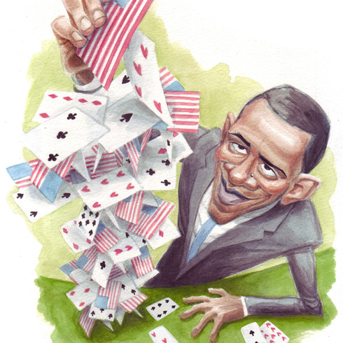 House of Cards, for the NY Post