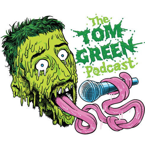 Tom Green Podcast, logo design for Tom Green