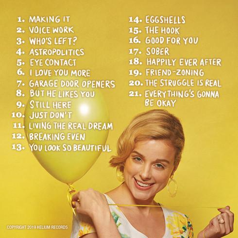 Erica Rhodes album cover (back)