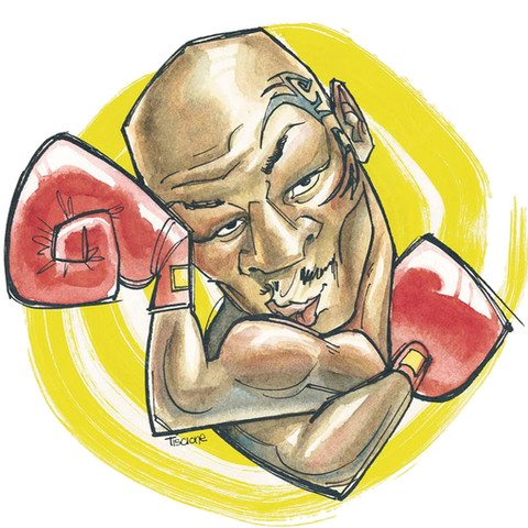 Mike Tyson, for the Arizona Daily Star
